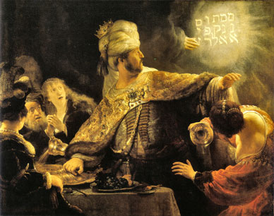 The art of Rembrandt, his drawings and paintings - Belshazzar's Feast