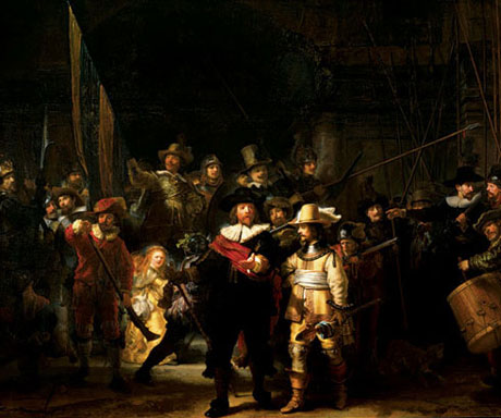 The art of Rembrandt, his drawings and paintings - The night watch